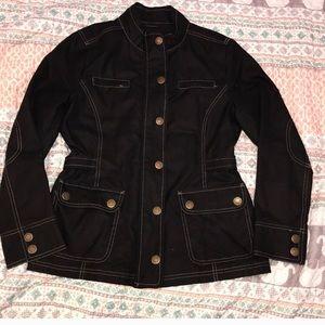 Boden waxed cotton coat 12